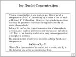 ice nuclei concentration