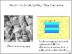 kaolinite al 2 si 2 o 5 oh 4 clay particles