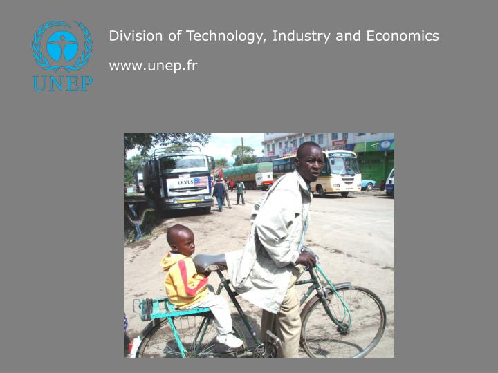 Division of Technology, Industry and Economics