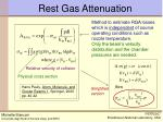 rest gas attenuation1