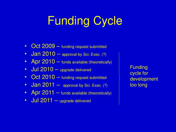 Funding Cycle
