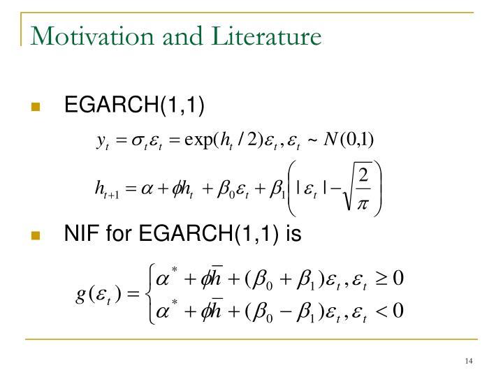 Motivation and Literature