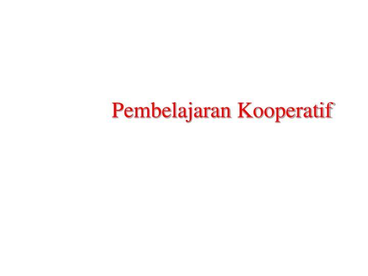 pembelajaran kooperatif n.