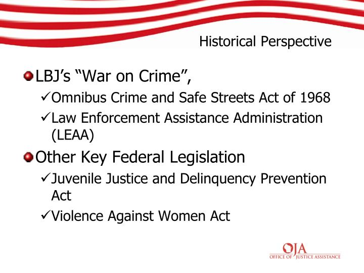 "LBJ's ""War on Crime"","