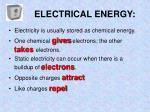 electrical energy1