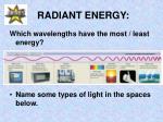 radiant energy5