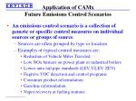 application of camx future emissions control scenarios1