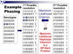 example phasing