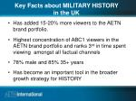 key facts about military history in the uk