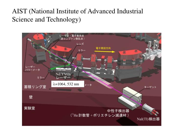 AIST (National Institute of Advanced Industrial Science and Technology)