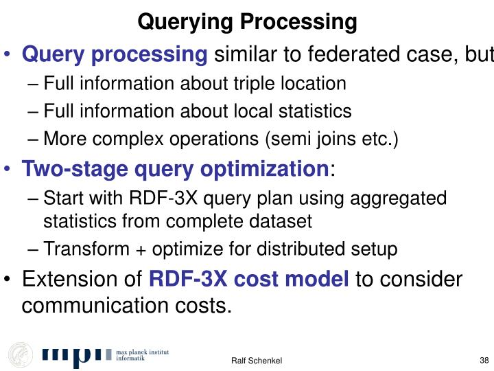 Querying Processing