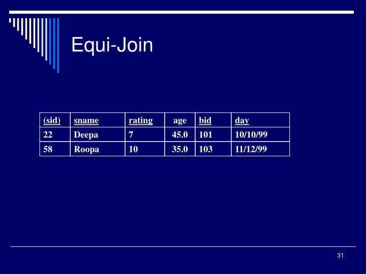 Equi-Join