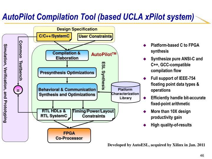 AutoPilot Compilation Tool (based UCLA xPilot system)