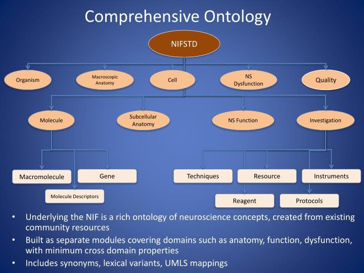 Comprehensive Ontology