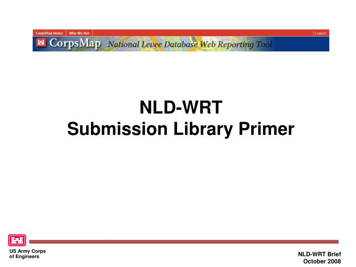 nld wrt submission library primer
