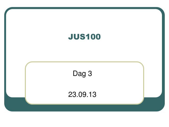 jus100 n.