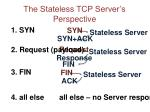 the stateless tcp server s perspective
