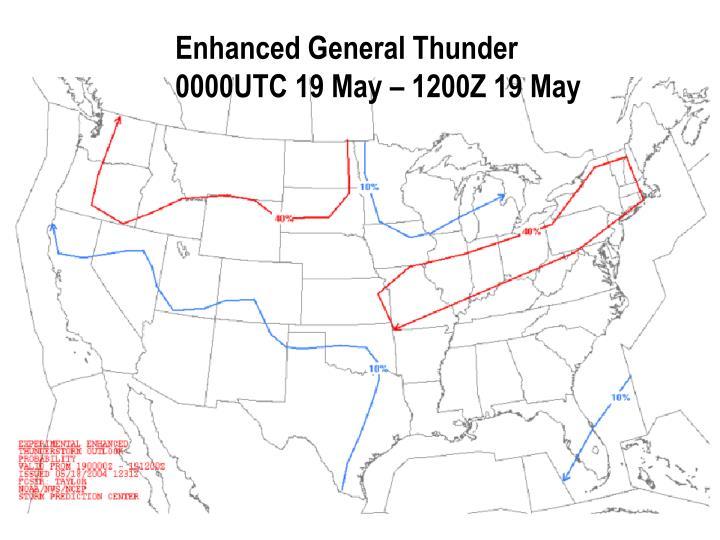 Enhanced General Thunder