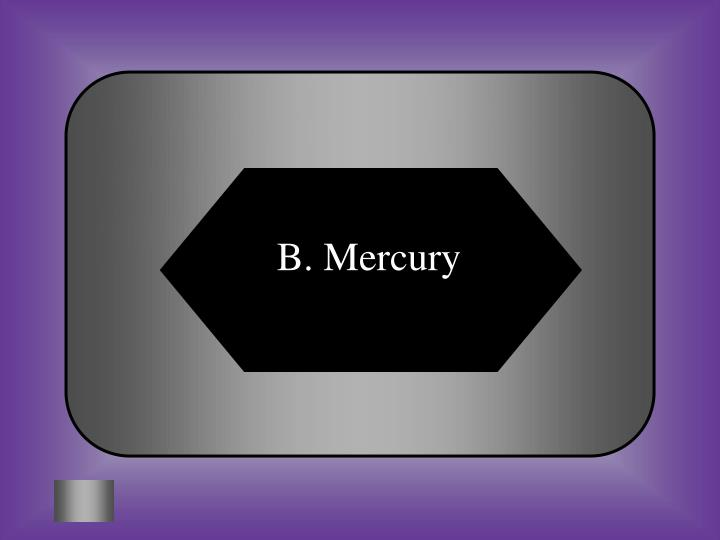 B. Mercury