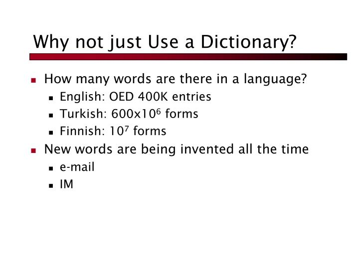 Why not just Use a Dictionary?