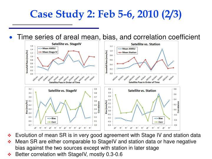 Case Study 2: Feb 5-6, 2010 (2/3)