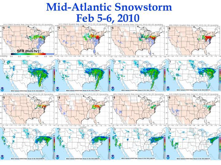 Mid-Atlantic Snowstorm