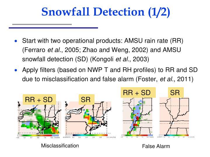 Snowfall Detection (1/2)