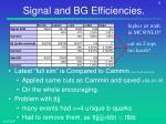 signal and bg efficiencies2