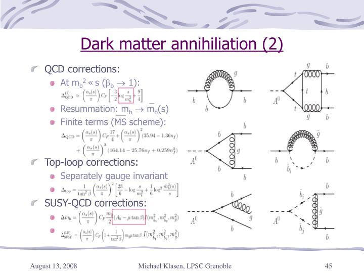 QCD corrections: