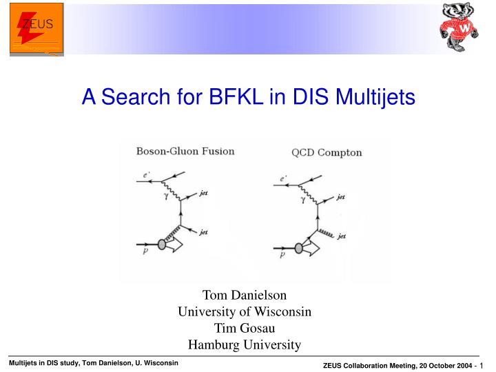 A Search for BFKL in DIS Multijets