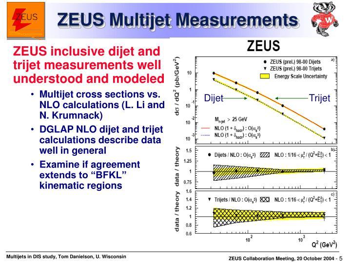 ZEUS Multijet Measurements