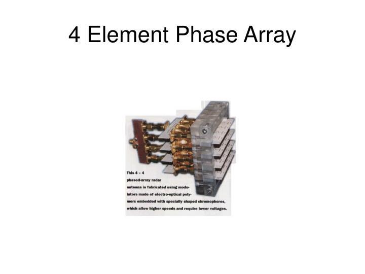 4 Element Phase Array
