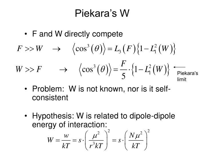 Piekara's W
