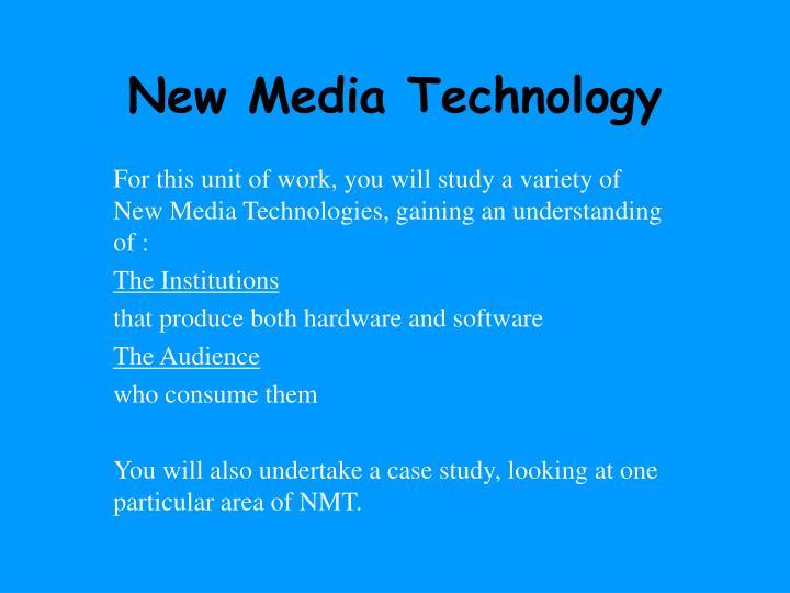 New media technology1