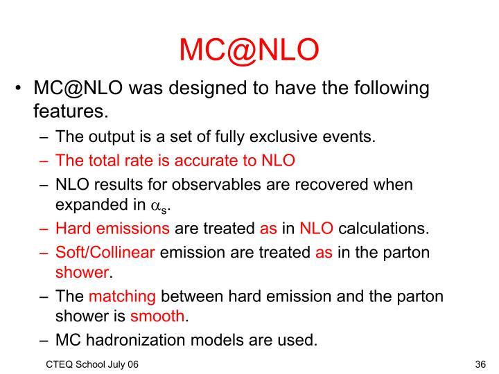 MC@NLO