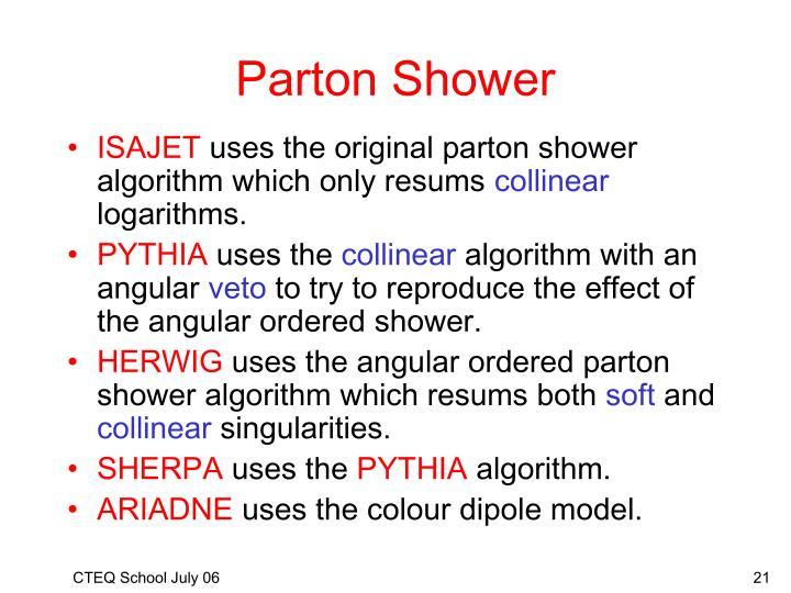 Parton Shower