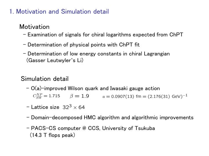 1 motivation and simulation detail