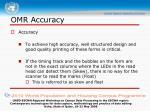 omr accuracy