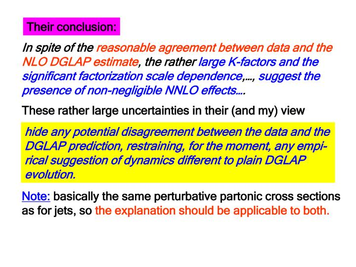 Their conclusion: