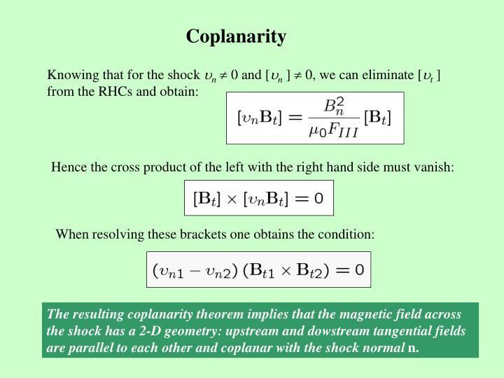 Coplanarity