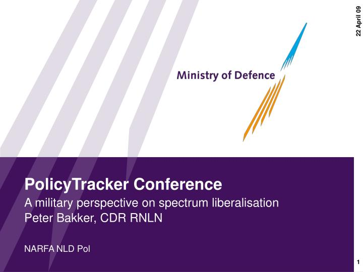 Policytracker conference