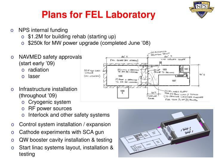 Plans for FEL Laboratory
