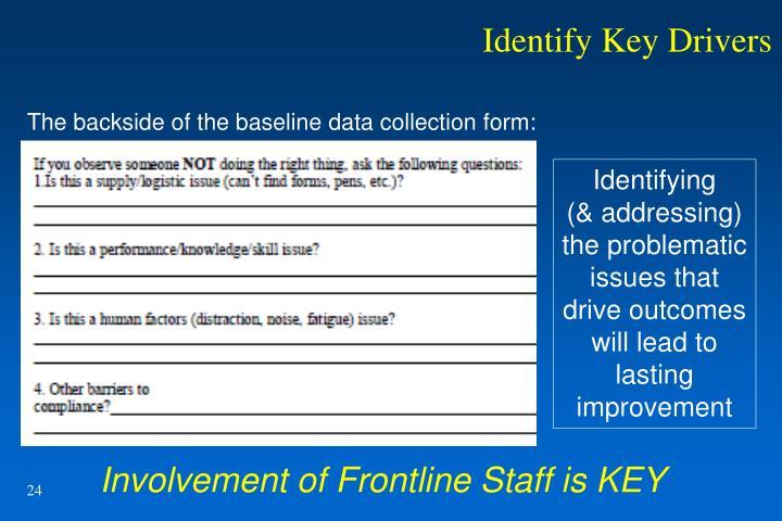 Identify Key Drivers