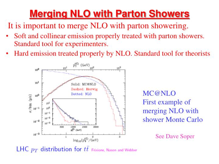 Merging NLO with Parton Showers