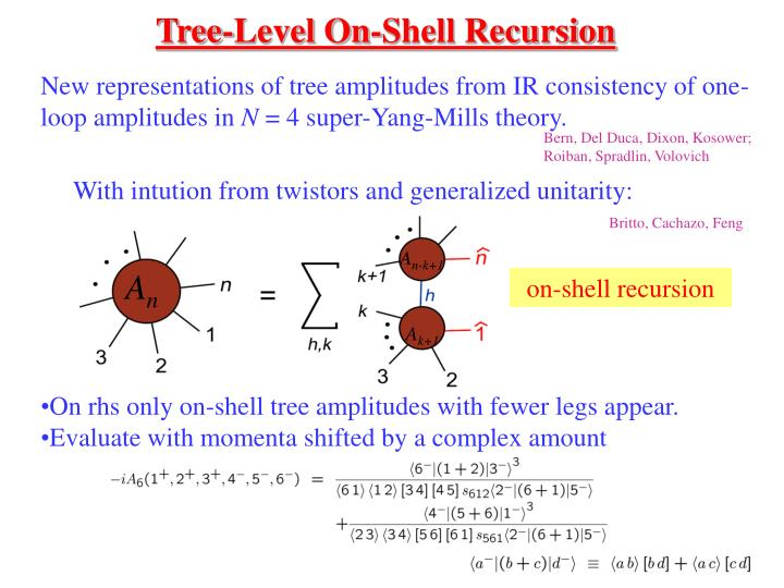 Tree-Level On-Shell Recursion
