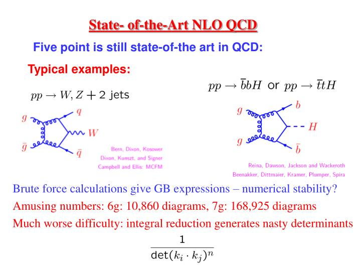 State- of-the-Art NLO QCD