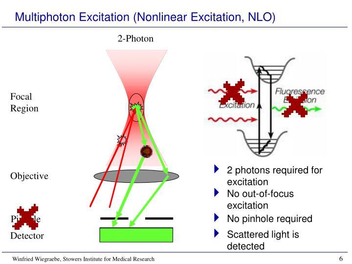 Multiphoton Excitation (Nonlinear Excitation, NLO)