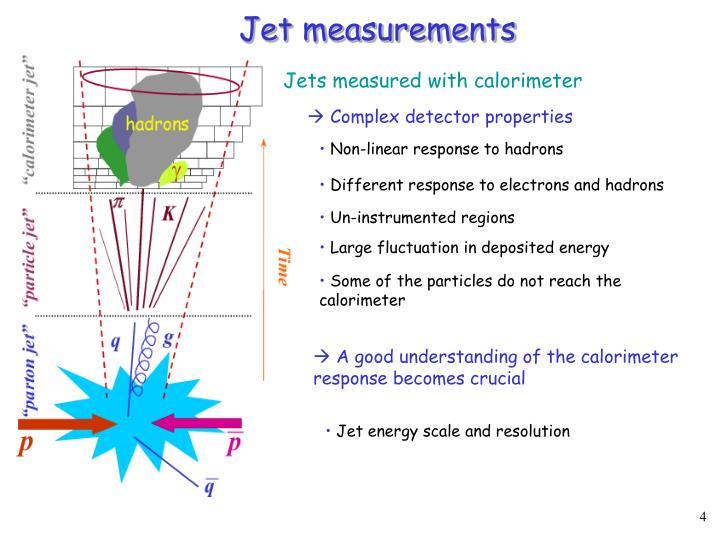 Jet measurements
