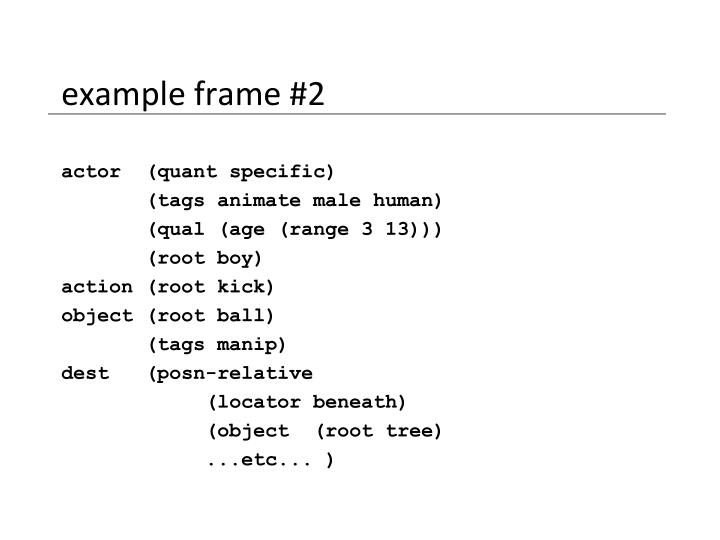 example frame #2