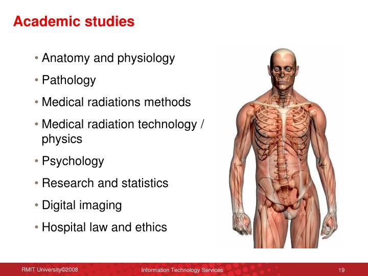 Academic studies